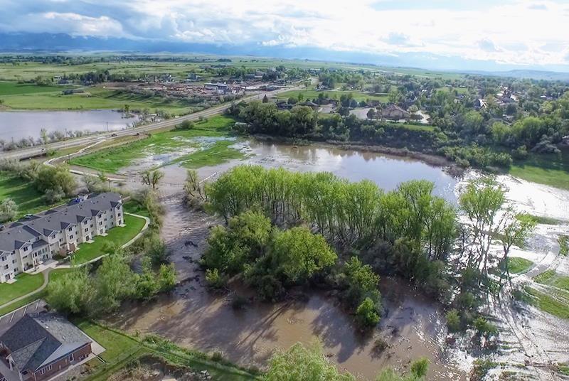 Sheridan Wy, Flooding, May 2015