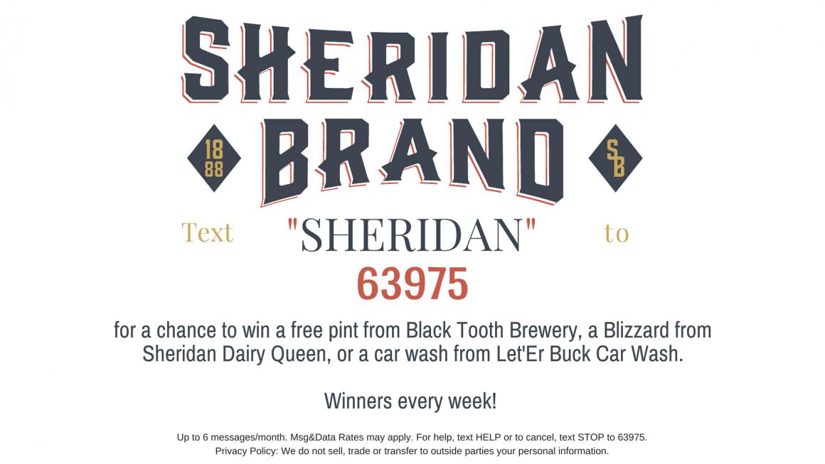 Sheridan Brand Text Club