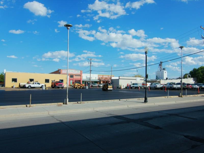Sheridan Parking Lot